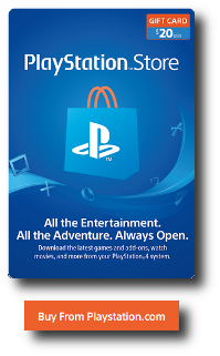 Buy Playstation Store Card From Official Playstation.com Vendor - Online Delivery