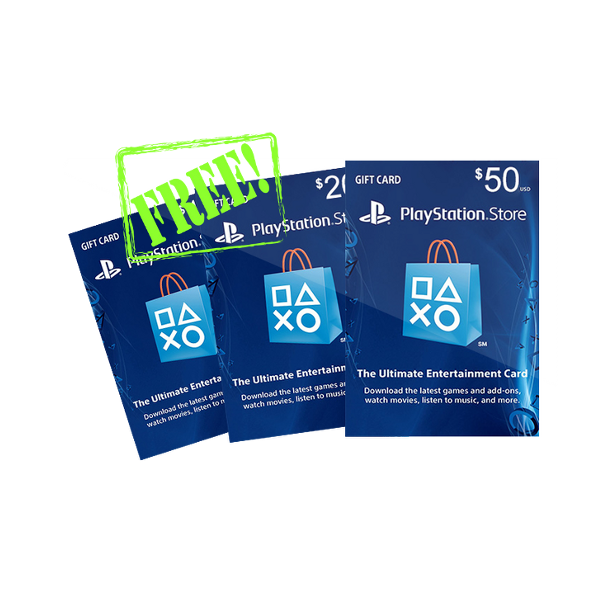 PSN Codes By PSNCardCode: Get Free PSN Codes Now